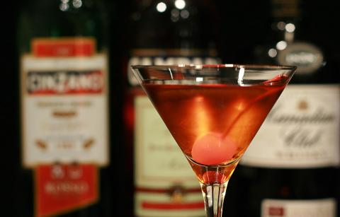 A Manhattan Cocktail
