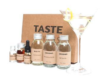 Gin Martini Martinez TASTE Cocktail box