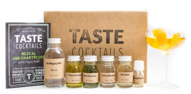 TASTE Cocktails Mezcal and Chartreuse